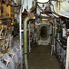Passage way through the engine room
