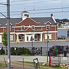 The train station in New London, CT