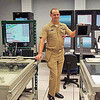 Chief Petty Officer Peterson talked about Submarine Navigation