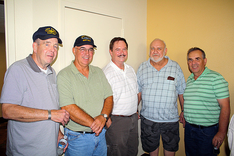 These men served together on the submarine