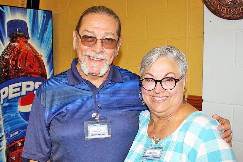 Ken and his wife, Barbara