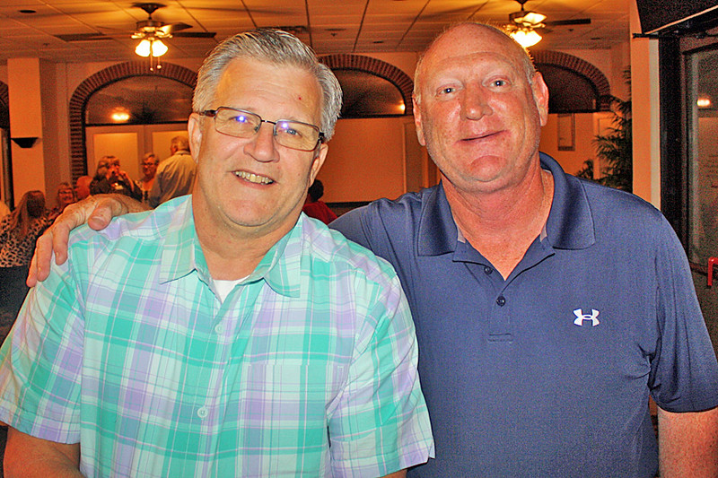 Keith (pictured at left) coordinated the events at the USS Dace reunion.