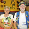 Wayne and his wife, Elaine. Wayne served on several submarines during his long career in the Navy.