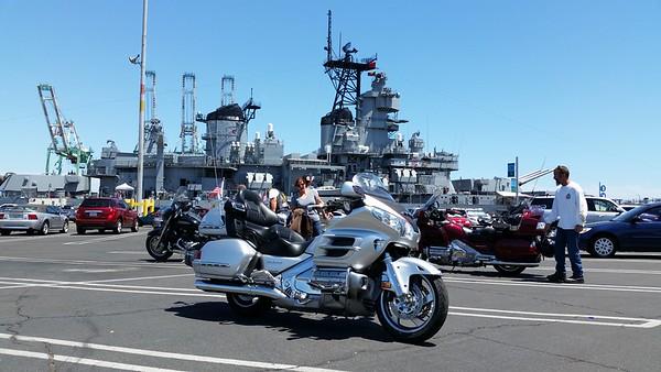 USS Iowa 2015