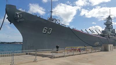 USS Missouri Battleship Pearl Harbour 2016