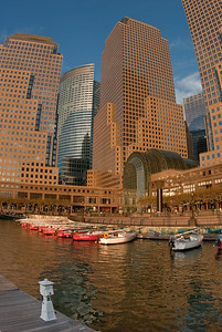The pier at World Financial Center