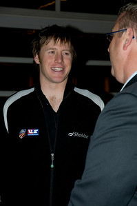 2009 Shaklee Energy Chews launch party, Chelsea Piers, New York City  Marco Sullivan, U.S. Ski Team Alpine October 28, 2009  Photo: Katie Perhai/USSA