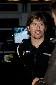 2009 Shaklee Energy Chews launch party, Chelsea Piers, New York City  Casey Puckett, U.S. Ski Team Ski cross October 28, 2009  Photo: Katie Perhai/USSA