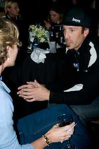 2009 Shaklee Energy Chews launch party, Chelsea Piers, New York City  Seth Wescott, U.S. Snowboarding Snowboardcross October 28, 2009  Photo: Katie Perhai/USSA