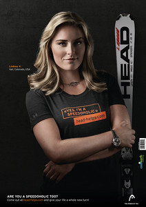 Head Speed Freaks campaign - Lindsey Vonn