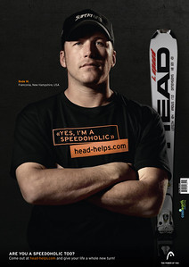 Head Speed Freaks campaign - Bode Miller