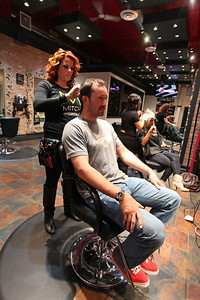 Seth Wescott Paul Mitchell Experience at Raika Salon Photo: Sarah Ely/USSA