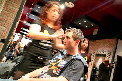 Jeremy Cota Paul Mitchell Experience at Raika Salon Photo: Sarah Ely/USSA