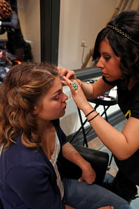Ashley Caldwell Paul Mitchell Experience at Raika Salon Photo: Sarah Ely/USSA