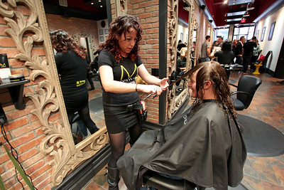 Stacey Cook Paul Mitchell Experience at Raika Salon Photo: Sarah Ely/USSA