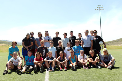 2012 Rookie Camp: Believe and Achieve Soccer game Photo: USSA