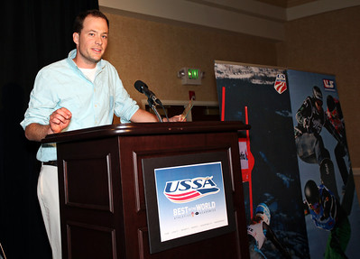 Cross Country Coach of the Year: Matt Whitcomb 2012 USSA Congress Awards Banquet at The Marriott in Park City, UT Photo: USSA
