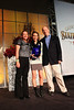 Sarah Hendrickson with her parents<br /> 2013 Utah Governer's State of Sport Awards in Salt Lake City, Utah.<br /> Photo: Sarah Brunson/USSA