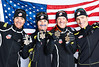 """24.02.2013, Val di Fiemme, Italy (ITA): Bill Demong (USA), Bryan Fletcher (USA), Todd Lodwick (USA), Taylor Fletcher (USA)<br /> - FIS nordic world ski championships, Val di Fiemme (ITA).  <a href=""""http://www.nordicfocus.com"""">http://www.nordicfocus.com</a>. © Felgenhauer/NordicFocus. Every downloaded picture is fee-liable. Image may be used for editorial purposes only."""