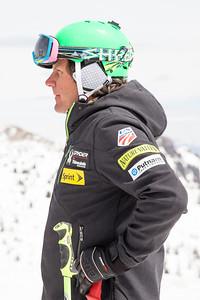 Sasha Rearick 2014 PSIA/U.S. Ski Team certification at Snowbird Resort. Photo: Sarah Brunson/U.S. Ski Team