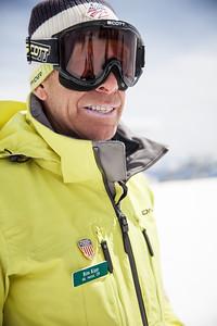 Ron Kipp 2014 PSIA/U.S. Ski Team certification at Snowbird Resort. Photo: Sarah Brunson/U.S. Ski Team