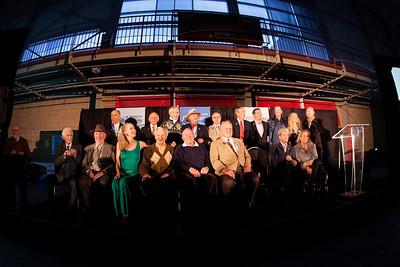 Past U.S. Ski Hall of Fame inductees 2014 U.S. Ski Hall of Fame induction in Park City, UT Photo: U.S. Ski Team