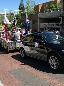 USSA float in the 4th of July Park City Parade Photo: USSA