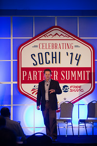 Calum Clark 2014 USSA Partner Summit  General Summit Sessions at the Center of Excellence, Park City Photo: USSA