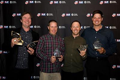 Ben Wisner, Dave Reynolds, Ben Verge and Dave Euler Chairman's Awards Dinner 2016 USSA Congress Photo: USSA