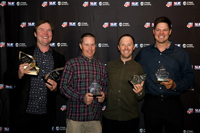 Ben Wisner, Dave Reynolds, Ben Verge and Dave Euler Chairman's Awards Dinner 2016 USSA Congress Photo: USSA