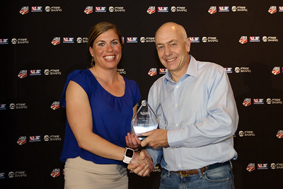 Russel Wilder Award - NANA Nordic (Rosie Brennan accepting) Chairman's Awards Dinner 2016 USSA Congress Photo: USSA