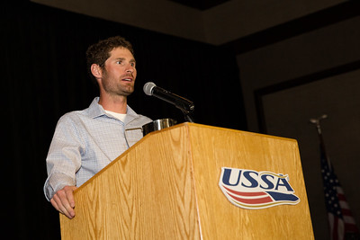 Team Athletes Giving Back Award - Bryan Fletcher / ccThrive Chairman's Awards Dinner 2016 USSA Congress Photo: USSA