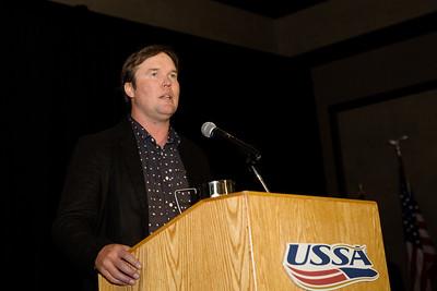 Snowboarding Domestic Coach of the Year - Ben Wisner Chairman's Awards Dinner 2016 USSA Congress Photo: USSA