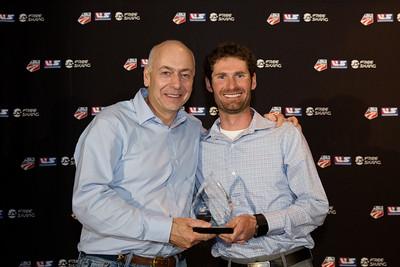 Team Athletes Giving Back Award - Bryan Fletcher / ccThrive Chairman's Awards Dinner 2016 USSA Congress Photo: USSA