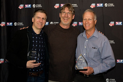 Dr. Randy Viola, Dr. Kyle Wilkens and Dr. Terry Orr Chairman's Awards Dinner 2016 USSA Congress Photo: USSA
