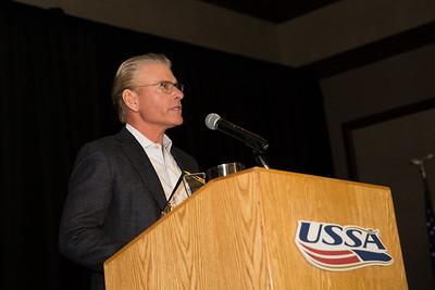 Julius Blegen Award - Bob Dart Chairman's Awards Dinner 2016 USSA Congress Photo: USSA