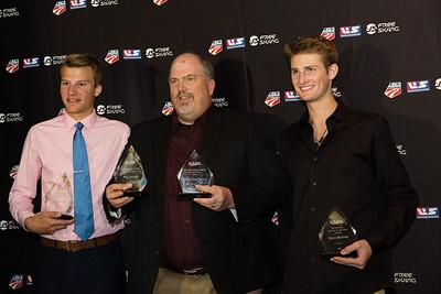Ben Loomis, Paul Jastrow and Kevin Bickner Chairman's Awards Dinner 2016 USSA Congress Photo: USSA
