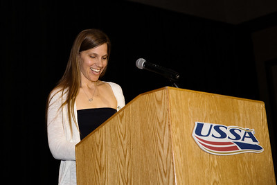 Anna McIntyre Citation - Michelle Tomaier Chairman's Awards Dinner 2016 USSA Congress Photo: USSA