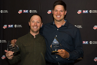Ben Verge and Dave Euler Chairman's Awards Dinner 2016 USSA Congress Photo: USSA