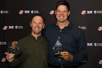 Ben Verge and Dave Euler Chairman's Awards Dinner 2016 USSA Congress Photo: USSA