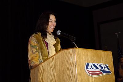 Al Sise Outstanding Masters Award - Lisa Densmore Ballard Chairman's Awards Dinner 2016 USSA Congress Photo: USSA