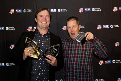 Ben Wisner and Dave Reynolds Chairman's Awards Dinner 2016 USSA Congress Photo: USSA