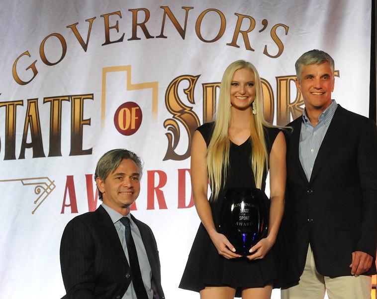 Kiley McKinnon Wins Utah State of Sport Award