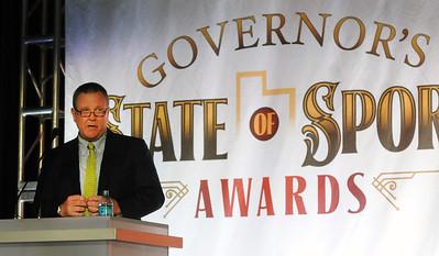 Scott Blackmun at Utah State of Sport Awards