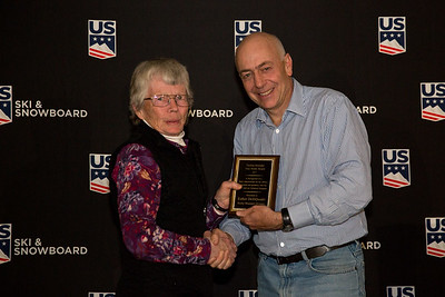 Esther DelliQuadri Thelma Hoessler True North Award  Chairman's Award Dinner  2017 U.S. Ski & Snowboard Congress