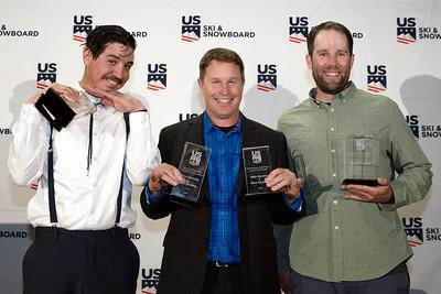 Mike Ramirez, Dave Reynolds, Brady McNeill Chairman's Awards Dinner 2018 U.S. Ski & Snowboard Congress Photo: U.S. Ski & Snowboard