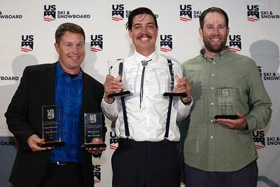 Dave Reynolds, Mike Ramirez, Brady McNeill Chairman's Awards Dinner 2018 U.S. Ski & Snowboard Congress Photo: U.S. Ski & Snowboard