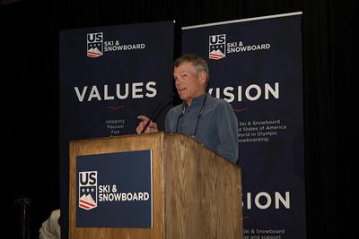 Brad Ghent: Westhaven Award Chairman's Awards Dinner 2018 U.S. Ski & Snowboard Congress Photo: U.S. Ski & Snowboard