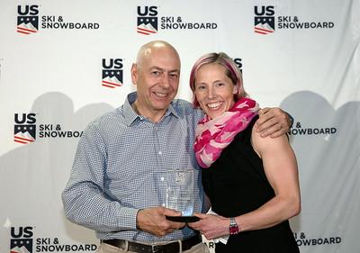 Kikkan Randall: Buddy Werner Award, Team Athlete Giving Back Award, Finlandia Award Chairman's Awards Dinner 2018 U.S. Ski & Snowboard Congress Photo: U.S. Ski & Snowboard