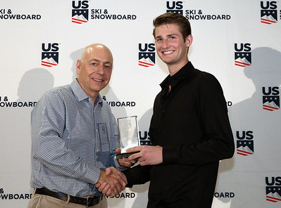 Kevin Bickner: Ski Jumping Athlete of the Year Chairman's Awards Dinner 2018 U.S. Ski & Snowboard Congress Photo: U.S. Ski & Snowboard